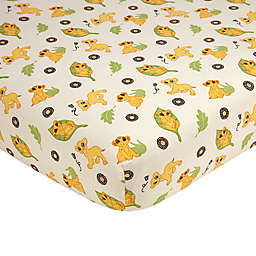 Disney® Lion King's Wild Adventure Fitted Crib Sheet in Ivory