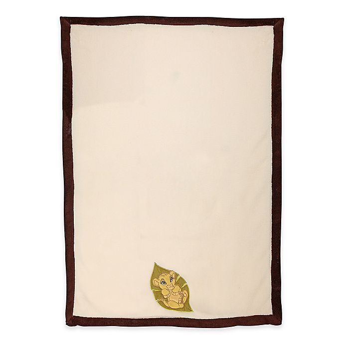 Alternate image 1 for Disney® Lion King's Wild Adventure Baby Blanket in Ivory