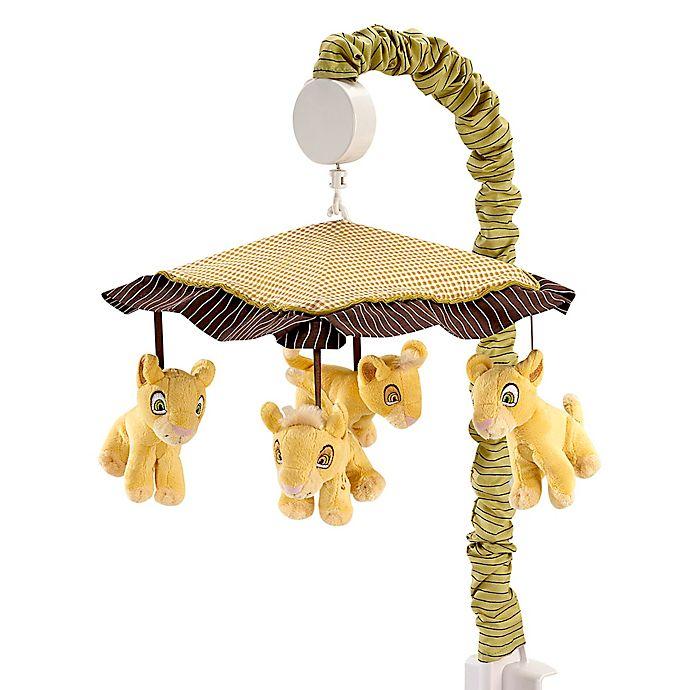 Alternate image 1 for Disney® Lion King's Wild Adventure Musical Mobile in Ivory