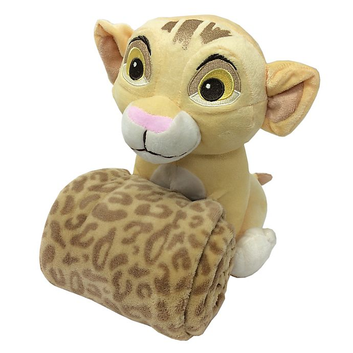Alternate image 1 for Disney® Lion King's Wild Adventure 2-Piece Plush Toy and Blanket Set in Ivory