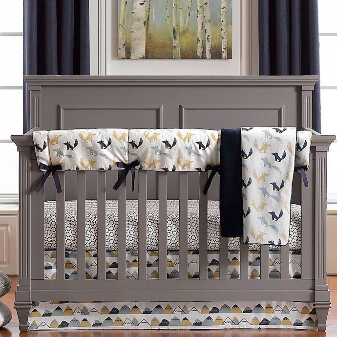 Alternate image 1 for Liz and Roo Fox Den 3-Piece Crib Bedding Set in Blue