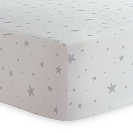 Kushies® Star Print Changing Pad Cover in Grey