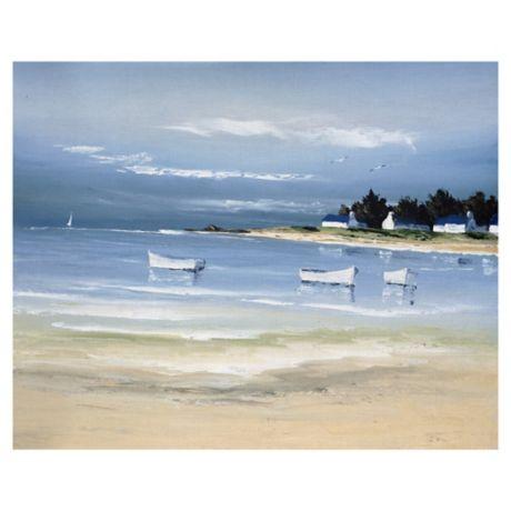 Masterpiece Art Gallery Coastal Inlet Ii Canvas Wall Art