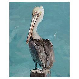 Masterpiece Art Gallery Pelican Perch-II Canvas Wall Art