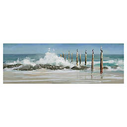 Masterpiece Art Gallery Perched By The Sea Canvas Wall Art