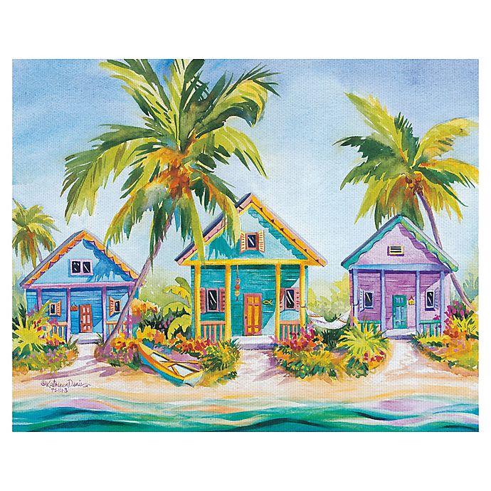 Alternate image 1 for Masterpiece Art Gallery Kathleen Denis Island Charm Canvas Wall Art