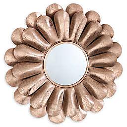 TOV Furniture Blossom Mirror in Rose Gold