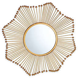TOV Furniture Ray Mirror in Gold