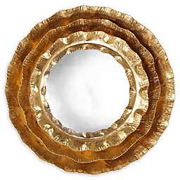 TOV Furniture Petal Mirror in Gold