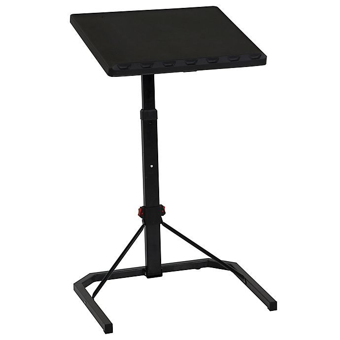 Cosco Multi Functional Adjustable Folding Table In Black