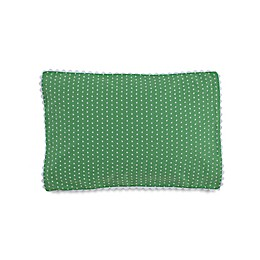 Southern Tide® Laurel Falls Swiss Dot Throw Pillow in Green