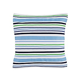 Southern Tide® Laurel Falls Ric Rac Throw Pillow in White