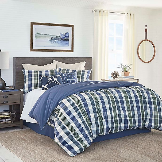 Alternate image 1 for Southern Tide® Royal Pine Twin Comforter Set in Navy