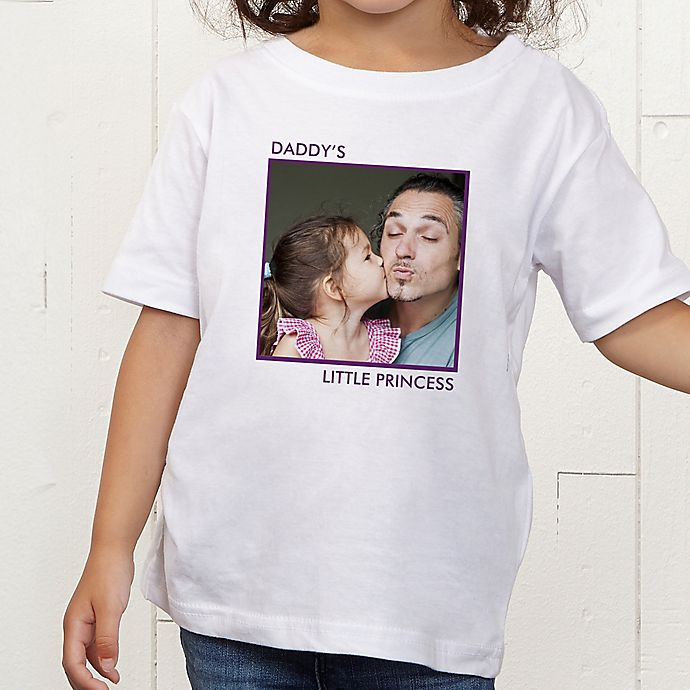 Alternate image 1 for Picture Perfect Personalized Toddler T-Shirt