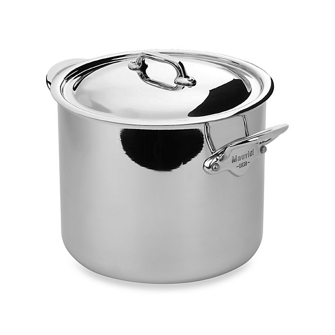 Magnetic Stainless Steel Stock Pot
