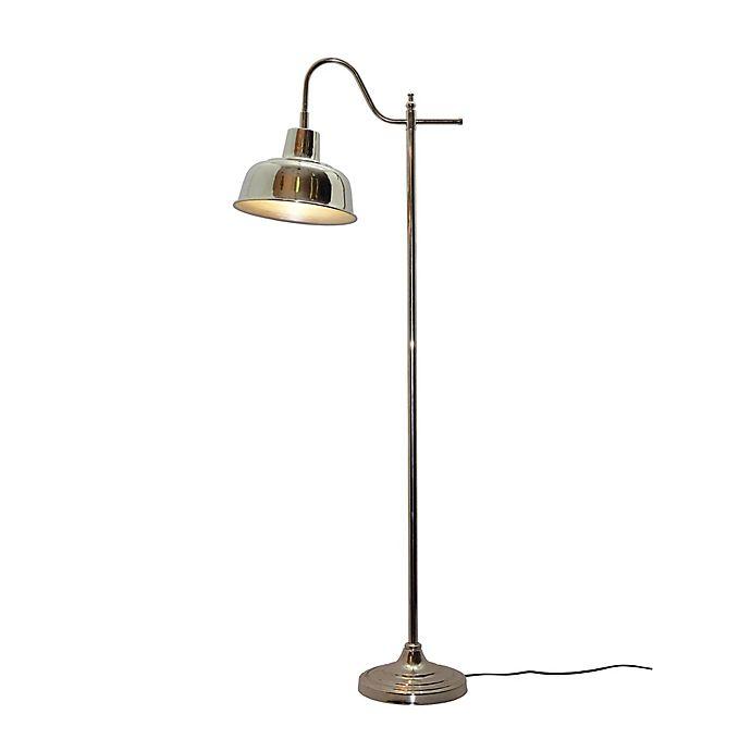 Bleeker Adjustable Floor Lamp In Nickel Bed Bath Amp Beyond