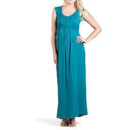 Savi Mom Athens Maternity Maxi Large Dress in Jade