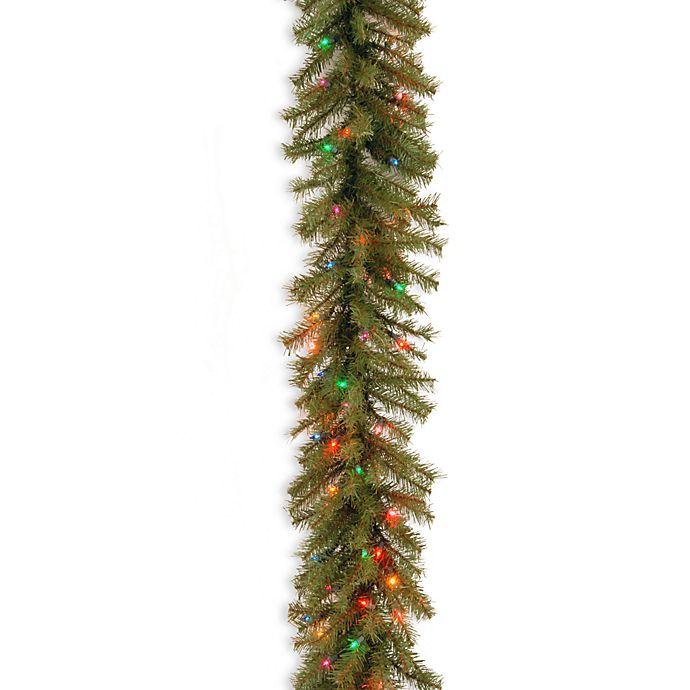 National Tree Company 9 Foot 12 Inch Pre Lit Norwood Fir