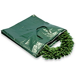 National Tree Company Heavy-Duty Wreath and Garland Storage Bag