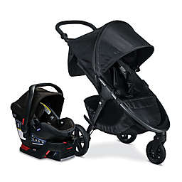BRITAX® Cool Flow B-Free and B-Safe Ultra Travel System in Black