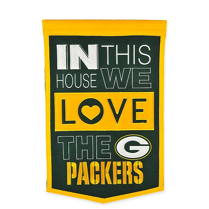 Alternate image 1 for NFL Green Bay Packers Home Banner
