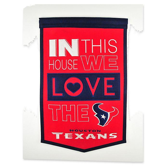 Alternate image 1 for NFL Houston Texans Home Banner