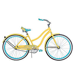 Huffy® Good Vibrations 26-Inch Women's Classic Cruiser Bicycle in Yellow