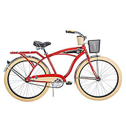 Huffy® Deluxe 26-Inch Perfect Fit Men's Cruiser Bike in Red