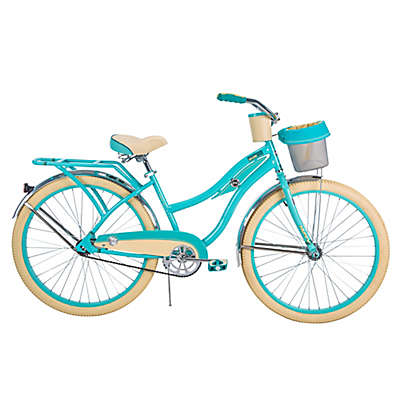 Huffy® Deluxe 26-Inch Perfect Fit Women's Cruiser Bike in Blue