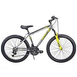 Huffy Wrath Metaloid 24-Inch Men's Mountain Bicycle in Silver