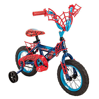 Huffy® Marvel® Spider-Man 12-Inch Bicycle with Web Handlebar