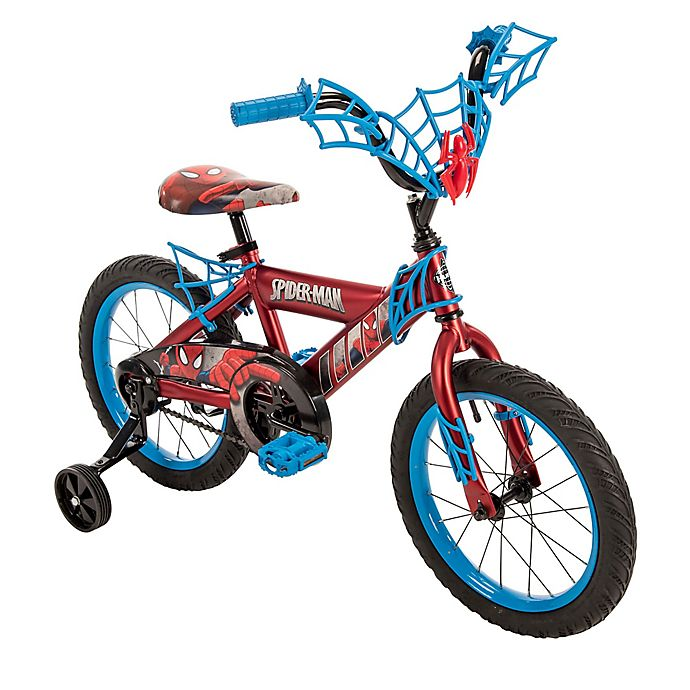 Alternate image 1 for Huffy® Marvel® Spider-Man 16-Inch Bicycle with Web Handlebar