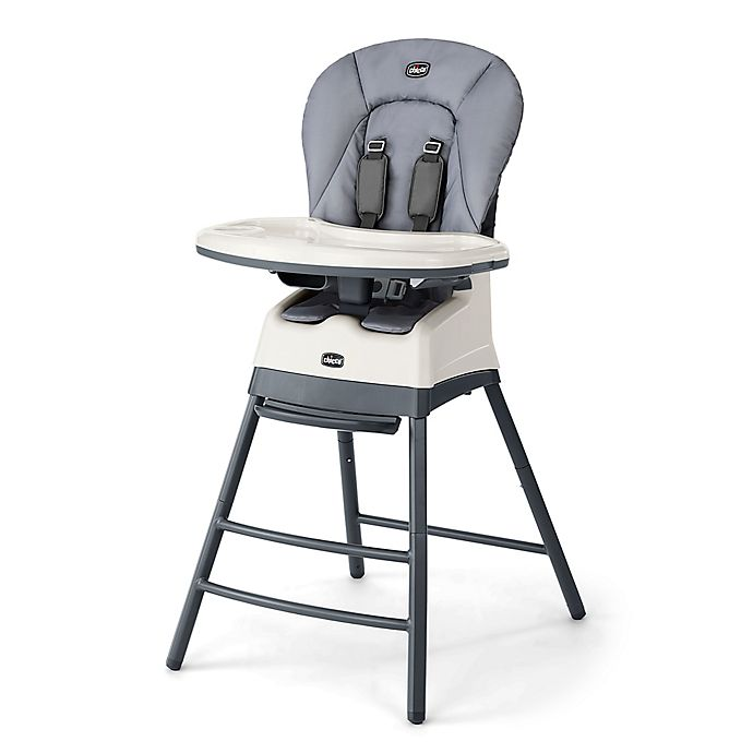Alternate image 1 for Chicco® Stack™ 3-in-1 High Chair in Grey