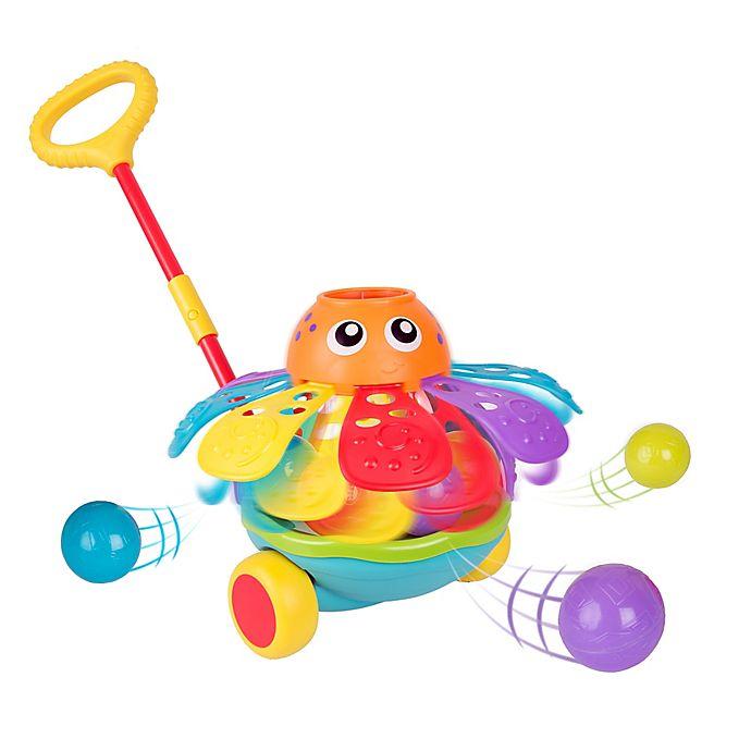 Alternate image 1 for Playgro™ Push Along Ball Popping Octopus