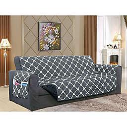 Bloomingdale Sofa Protector in Black/Grey