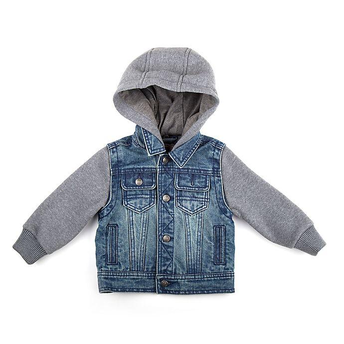 Alternate image 1 for Urban Republic Size 2T Medium Wash Denim Jacket