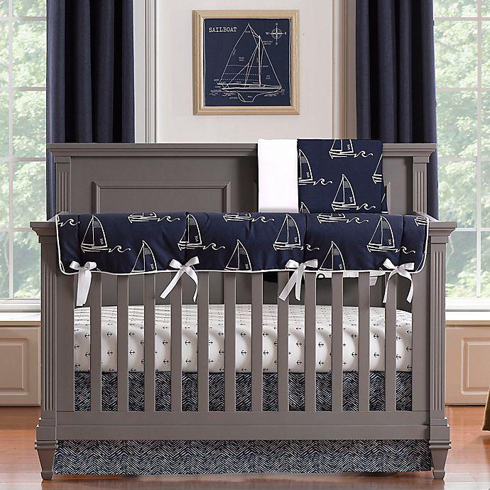 Roo Nautical Crib Bedding Collection