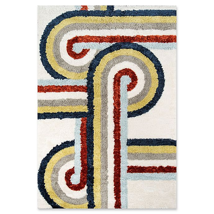 Alternate image 1 for Novogratz Collection Turnstyle Hand-Tufted Rug