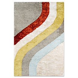 Novogratz Collection Classic Hand-Tufted Multicolored Rug in Multi