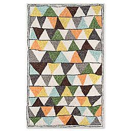 Novogratz Collection Tri Hand-Tufted Multicolored Rug in Multi