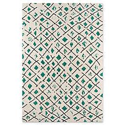 Novogratz Tallulah Hand-Woven Rug in Green