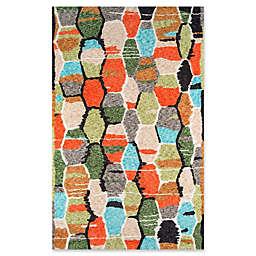 Novogratz Tiles Hand-Tufted Multicolored Rug