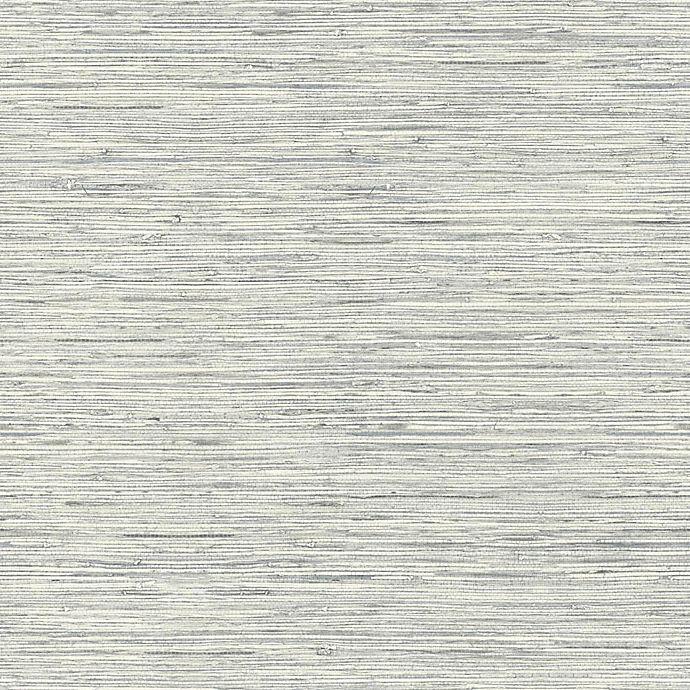 Grasscloth Wallpaper Peel And Stick: Roommates® Grasscloth Peel & Stick Wallpaper In Grey