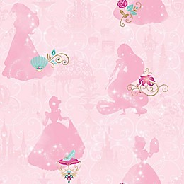 Roommates® Disney Princess Peel & Stick Wallpaper in Pink