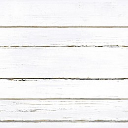 Roommates® Peel & Stick Shiplap Wallpaper in White