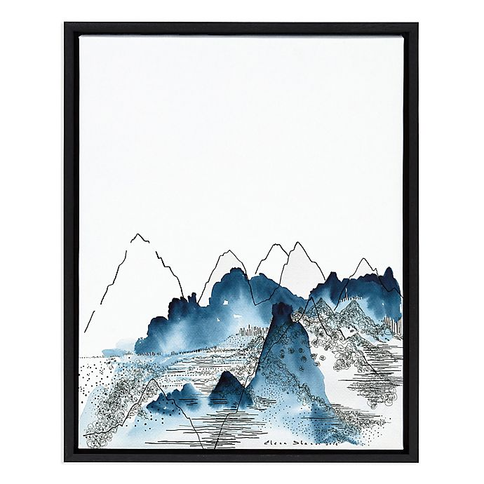 Alternate image 1 for Love of Mountains 18-Inch x 24-Inch Framed Wall Art
