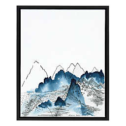 Love of Mountains 18-Inch x 24-Inch Framed Wall Art