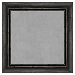 Amanti Art Framed Magnetic Board in Black
