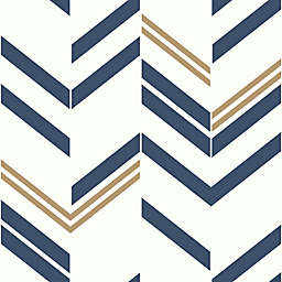 RoomMates® Chevron Stripe Peel and Stick Wallpaper