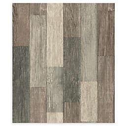 RoomMates® Weathered Wooden Planks Peel & Stick Wallpaper